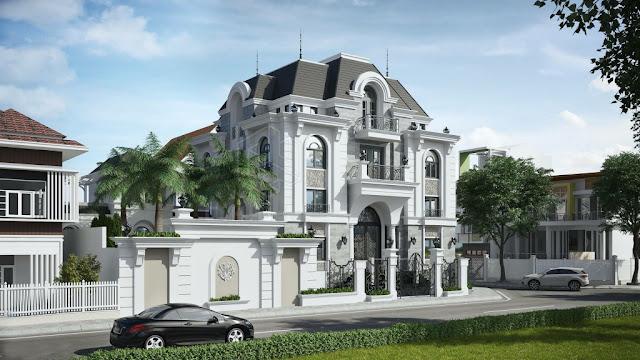 biệt thự tân cổ điển masteri villas