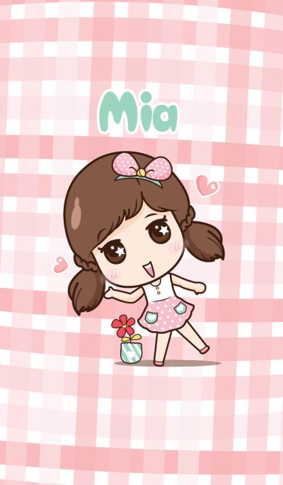 Mia in love