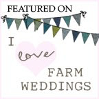 Featured on I Love Farm Weddings