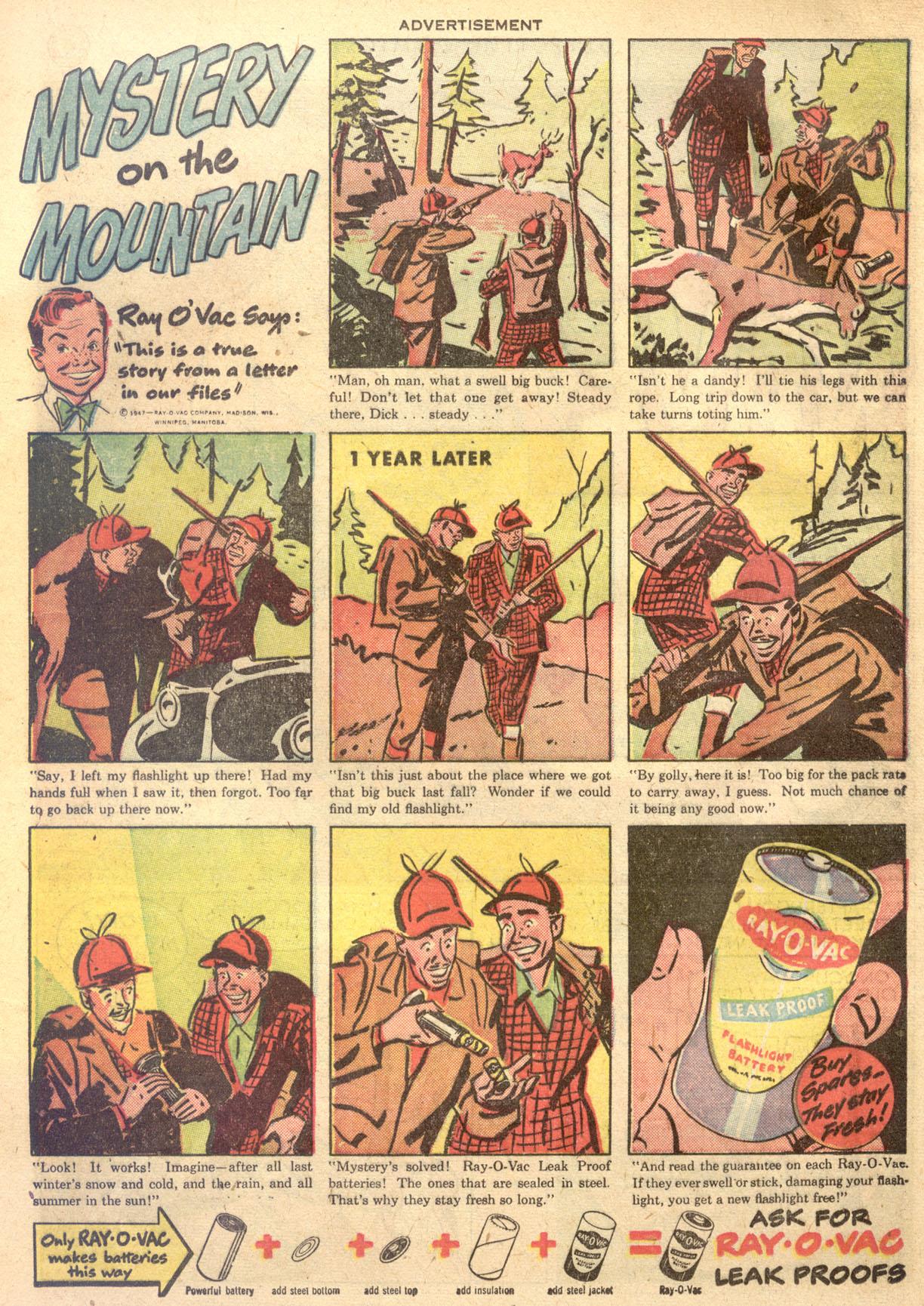 Read online Detective Comics (1937) comic -  Issue #134 - 23