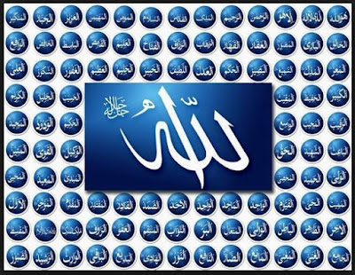 Istilah Asmaul Husna juga dikemukakan oleh Tuhan SWT dalam firman 99 Nama Tuhan SWT - Asmaul Husna dan Artinya