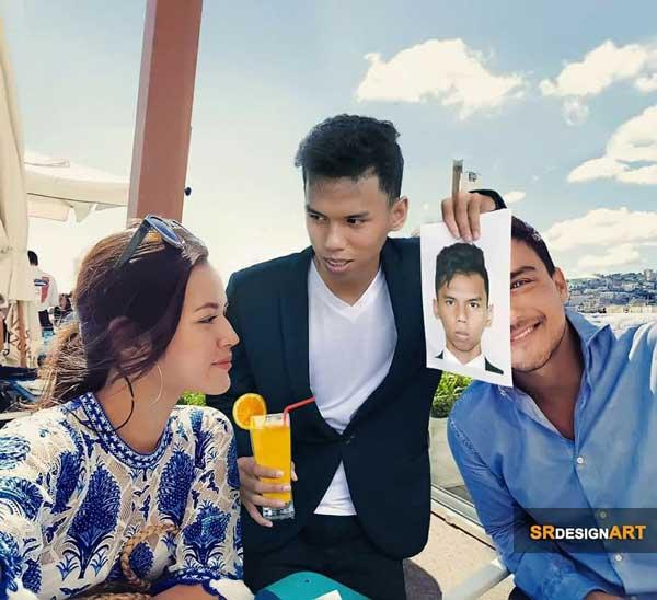 Syahril Ramadhan Master Photoshop dari Batam
