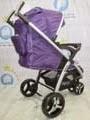 belakang Purple Babyelle S700 Curv2 Lightweight Baby Stroller
