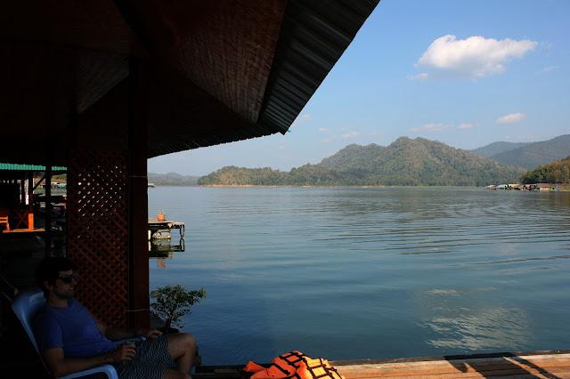 houseboats, Mae Ngat dam, Chiang Mai