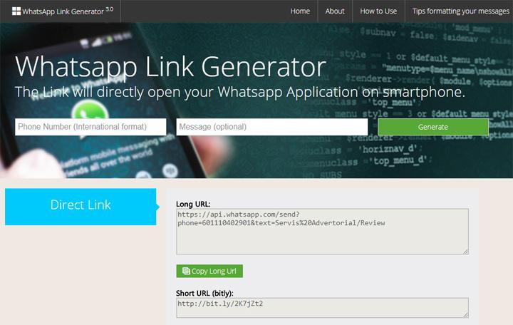 Cara Letak Link WhatsApp Untuk Mudahkan Pelanggan Contact