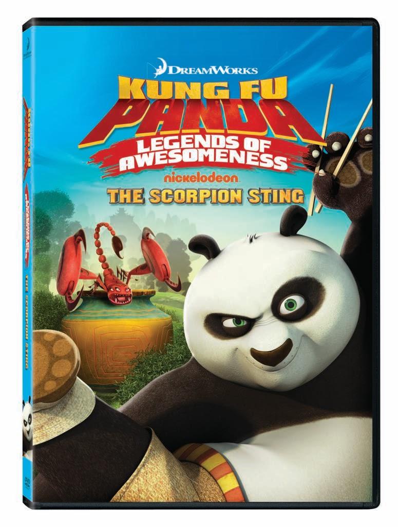 Kung Fu Panda Legends of Awesomeness (DVD, 2011) - G0621