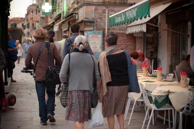 Andando a pé por Veneza