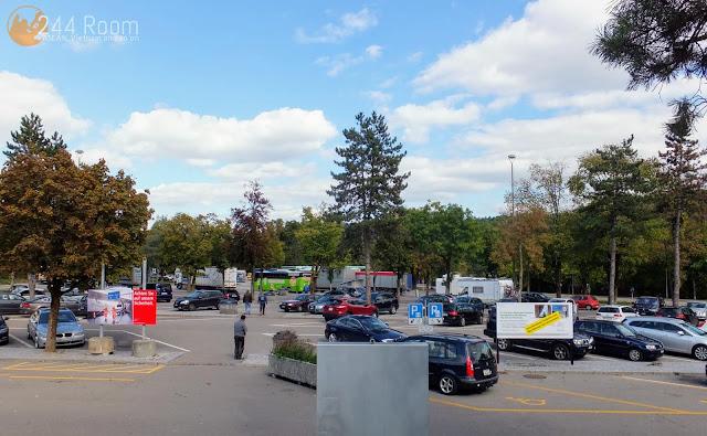 スイスのサービスエリア Servicearea in Switzerland2