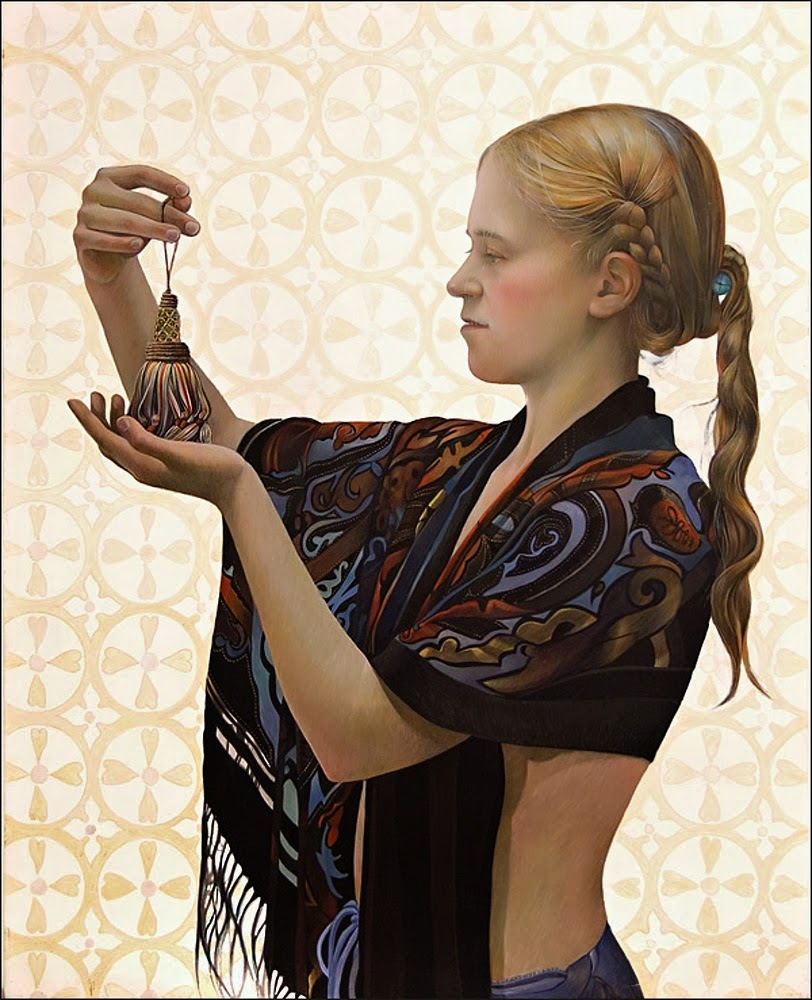 25 Beautiful Egg Tempera Paintings by Fred Wessel