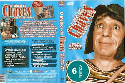Série O Melhor do Chaves Volume 6 DVD Capa
