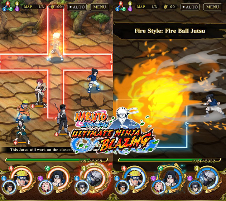 ultimate ninja blazing apk offline