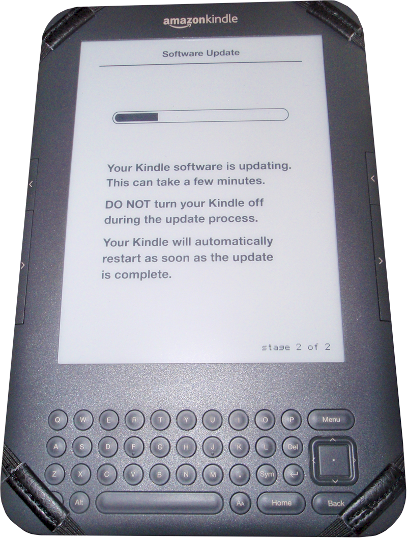 eReader Guru: New Software Update for Kindle Keyboard (Kindle 3)