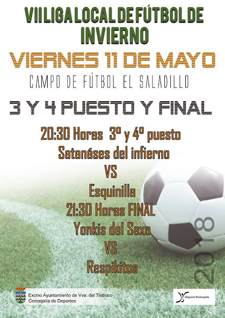 Final Liga Local de Fútbol de Villanueva del Trabuco