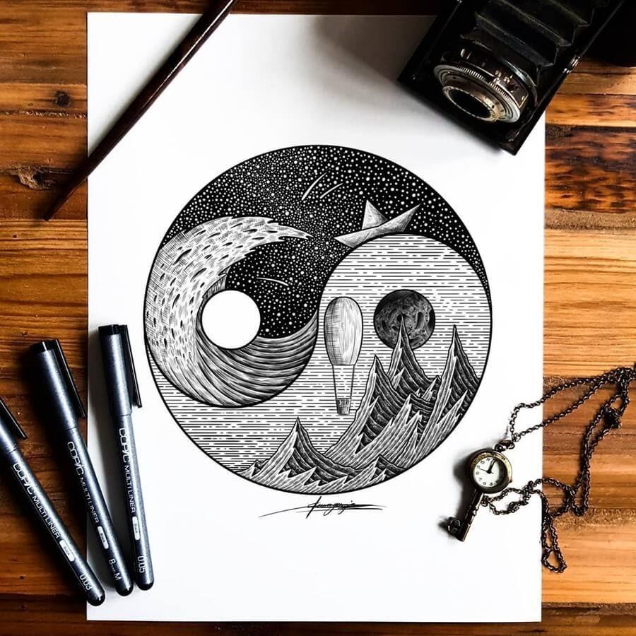 06-Yin Yang-artymoik-www-designstack-co