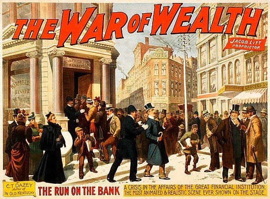 War on Wealth poster 1896