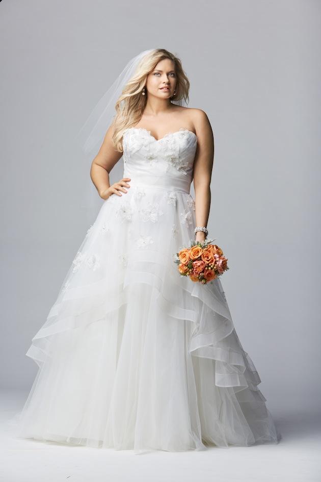 648f4fb31 Ideas de vestidos de novia para gorditas 2017