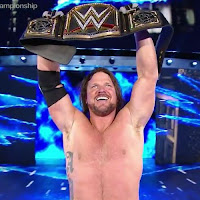 AJ Styles Talks Brock Lesnar Being A Part-Time Champion