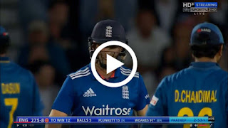 England vs Sri Lanka 1st ODI Last over finish 2016