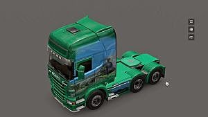 Campagne skin for Scania R