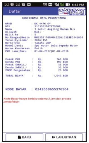 cara bayar pajakmotor online