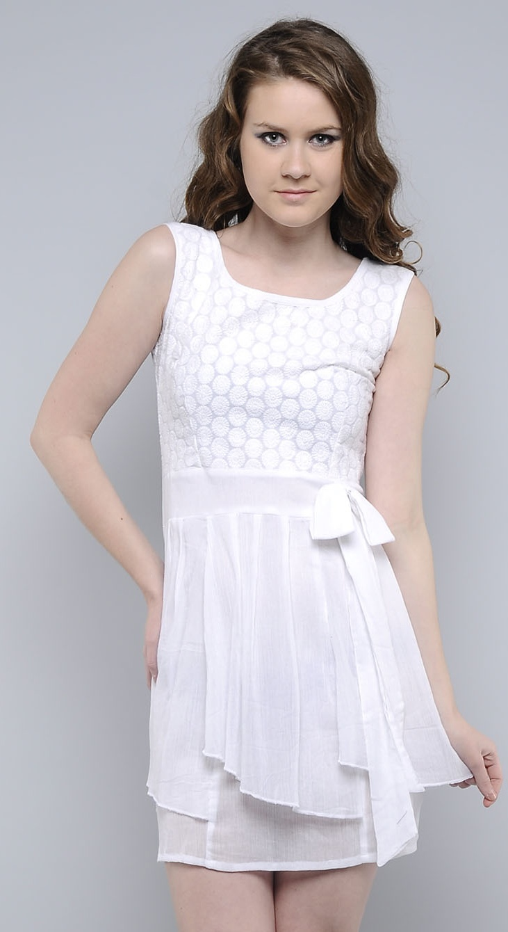 Stylish Tops Collection 2013 For Girls: White Cotton Tops Collection 2013