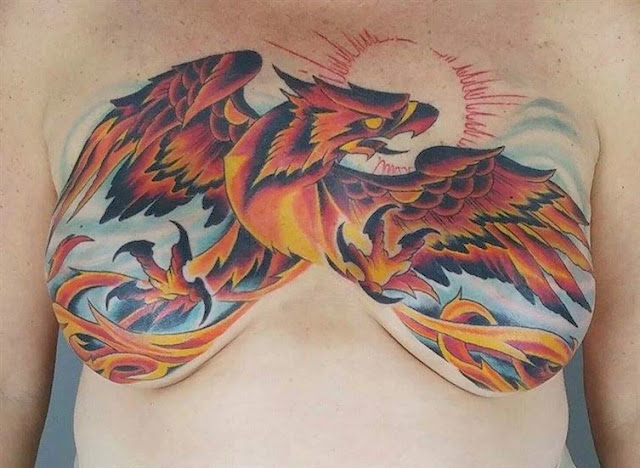 Courageous Women Transformed Their Breast Cancer Scars Into Stunning Artworks!