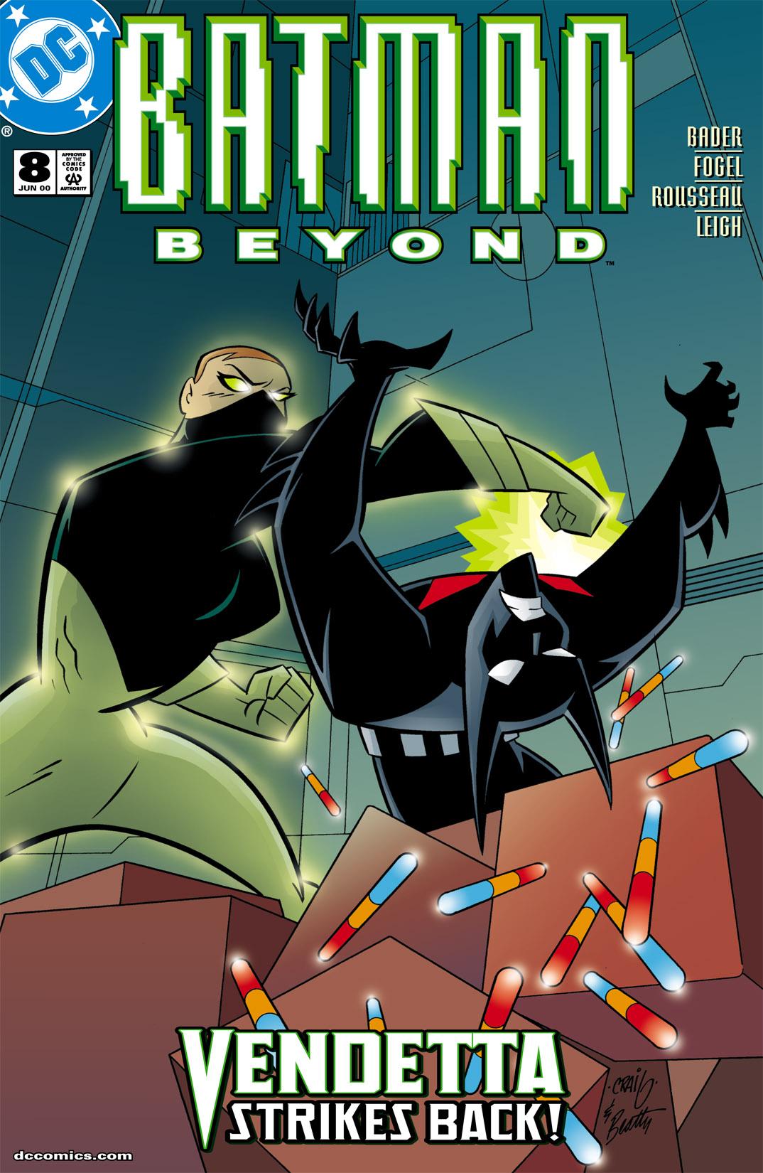 Batman Beyond [II] 8 Page 1