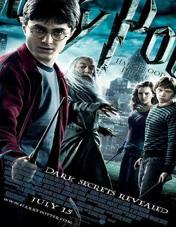 Harry Potter and the Half-Blood Prince 2009 Hindi Dual Audio BRRip Full Movie Download