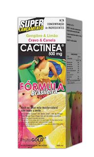 CACTINEA + Queima Limão - Drena Muito+