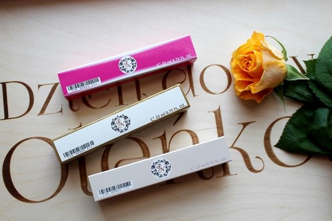 perfumetki oryginalnych marek: Armani, Coco Chanel, Lacoste
