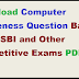 Download Computer Awareness Question Bank IBPS, SBI and Other Competitive Exams PDF Free