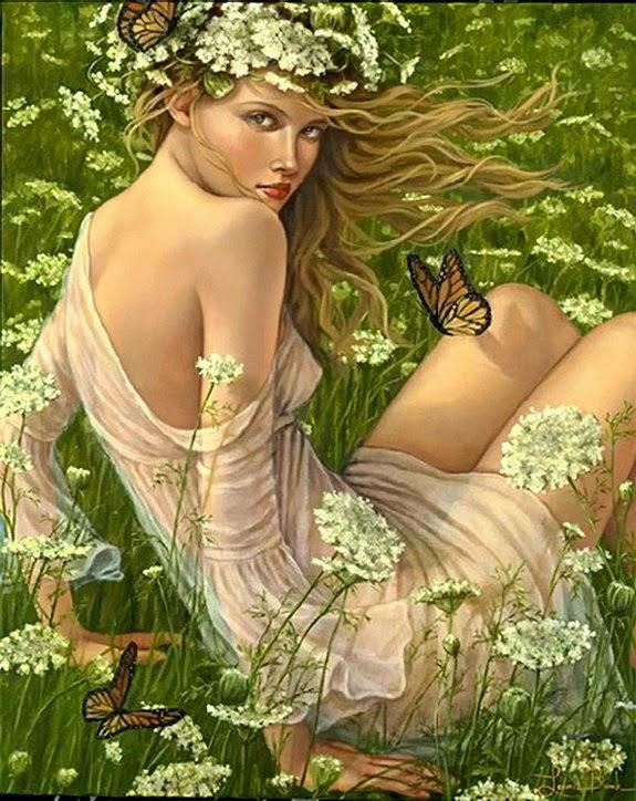 Flores Silvestres - Lauri Blank e suas pinturas cheias de emoções