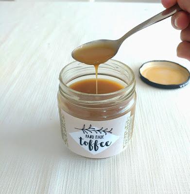 receta de salsa toffee con thermomix