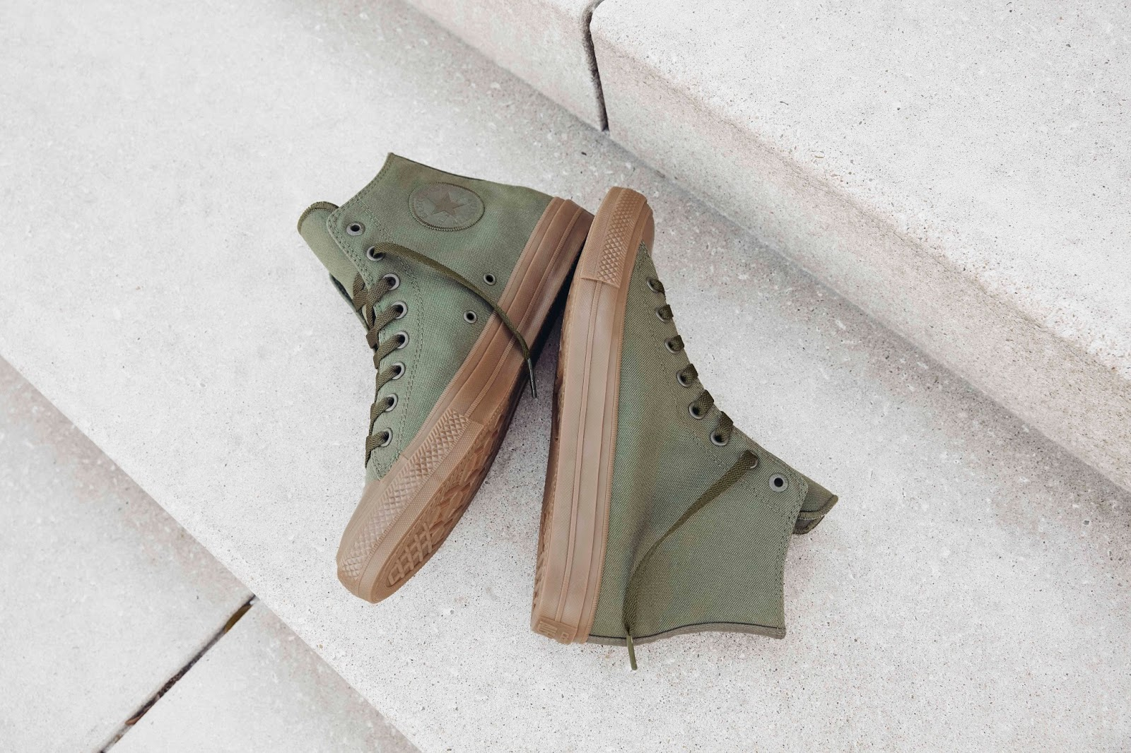 Converse Chuck Taylor All Star II Gumsole Hi in Herbal