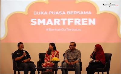 Talkshow Smartfren dengan Disabilitas Bergerak Indonesia