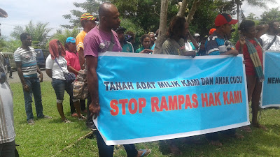 Pegiat HAM Nabire Duga Polda Papua Berupaya Hambat Hak Hidup OAP di Musairo