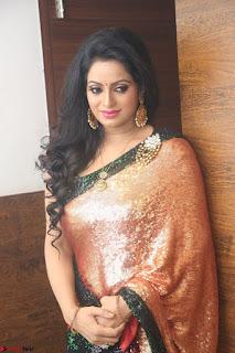 Udaya Bhanu lookssizzling in a Saree Choli at Gautam Nanda music launchi ~ Exclusive Celebrities Galleries 079.JPG