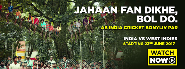 SonyLIV introduces its Sports Campaign, 'Jahaan Fan Dikhe Bol Do'