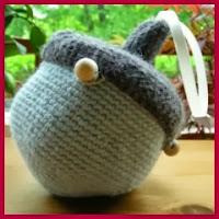 Bolsa bellota a crochet