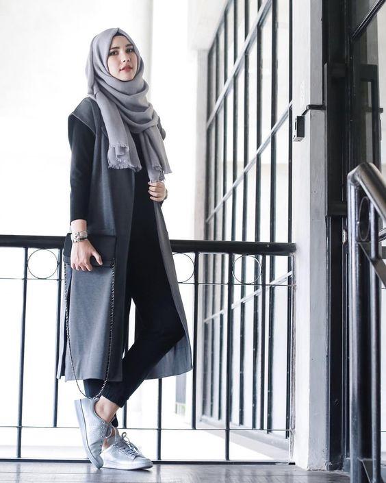 pinterest 1 20 trend model baju muslim casual terbaru 2017,Model Baju Wanita Remaja 2017