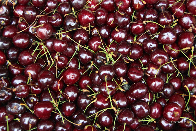 Cherries. Fruit. Summer