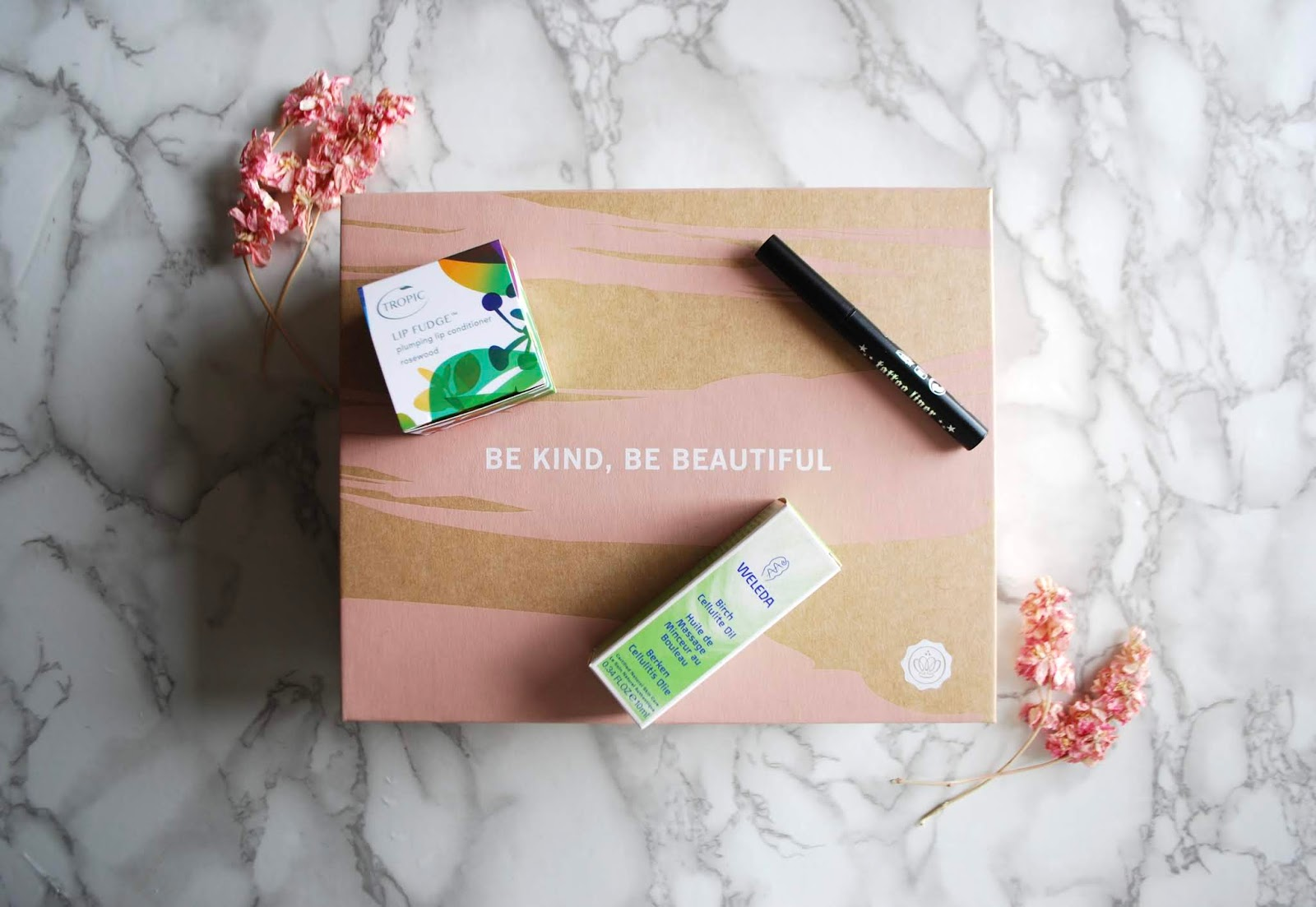 special edition vegan glossybox!