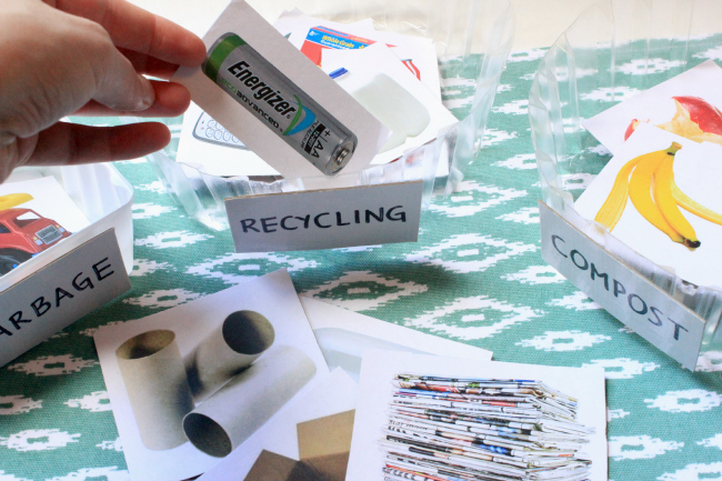 how to teach children about recycling