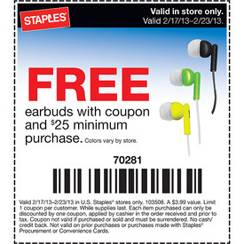 Earbuds Coupons