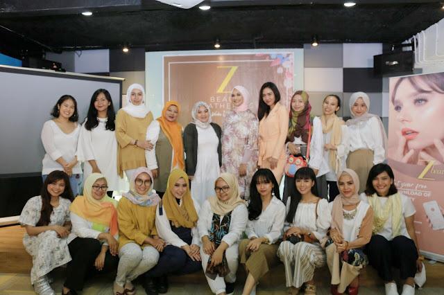 komunitas ISB di acara Z Beauty