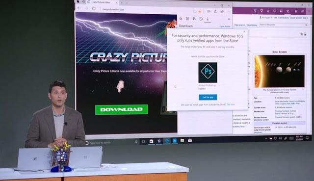 Presentación de Windows 10 S - El Blog de HiiARA