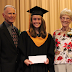 Inaugural Jerry & Gerry Ilchyna Scholarship Award presented at Dakota Collegiate