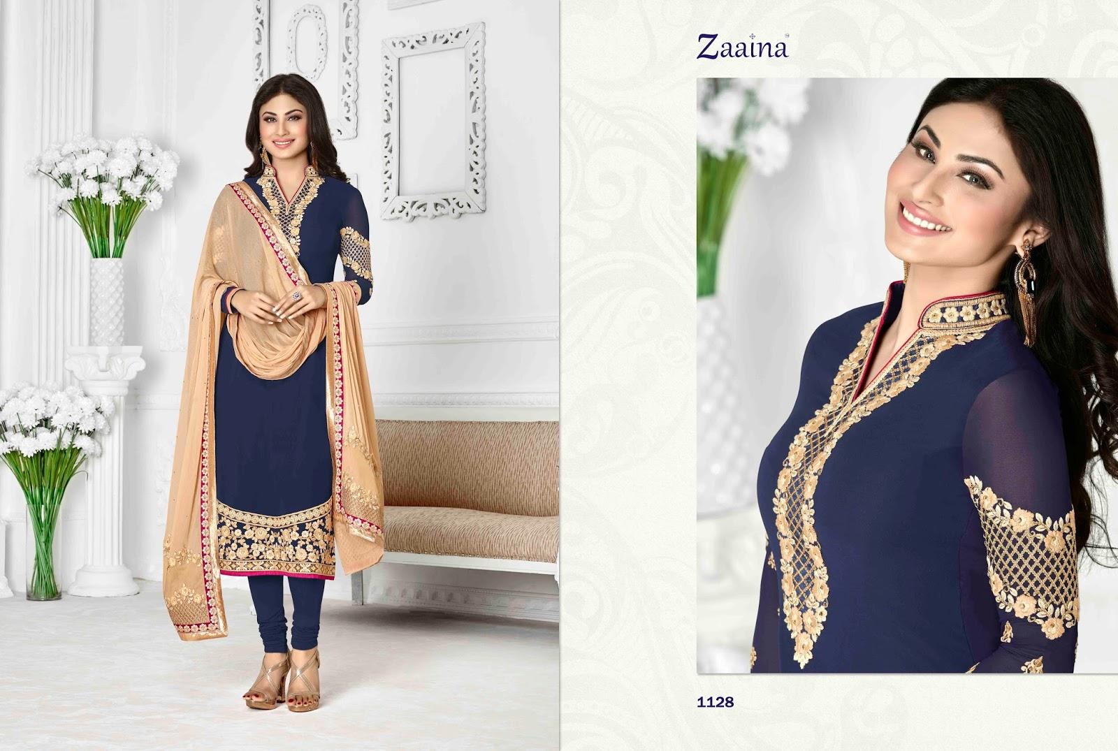 Zaaina Vol 4 – Embroidery Excellent designer Salwar Kameez
