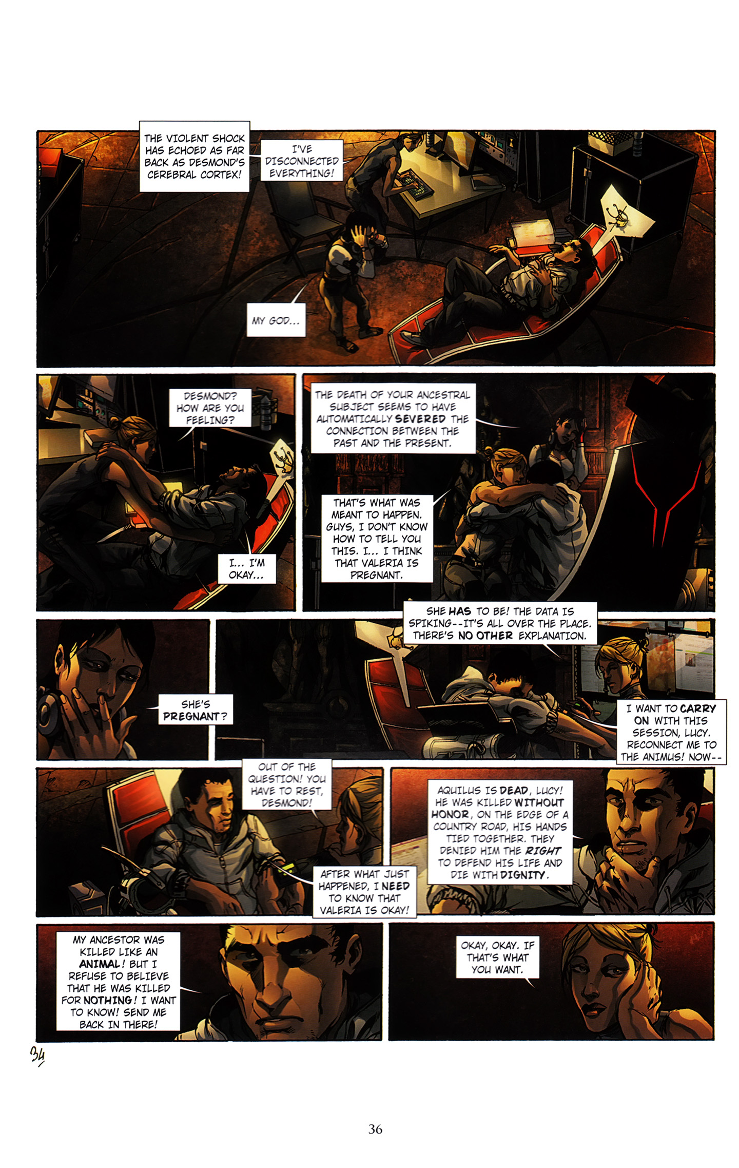 Read online Assassin's Creed (2012) comic -  Issue #3 - 40
