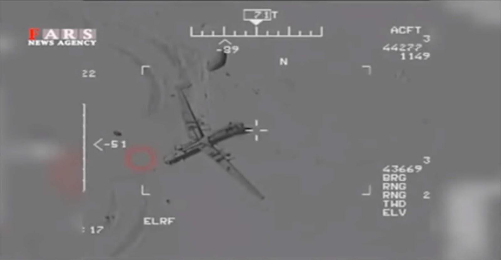 Iran merilis vide dengan klaim berhasil meretas UAV kelas berat AS